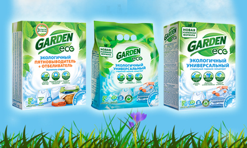 Garden Eco – экосредства для стирки и уборки в доме со скидкой 25%